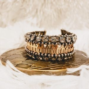 Stella & Dot Portia Rhinestone Bracelet